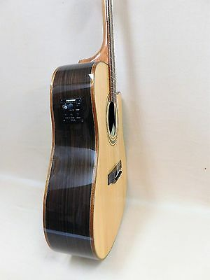 Klema K300DS-CE Acoustic Guitar with EQ + Gig Bag + Strings