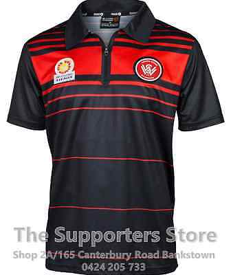 Western Sydney Wanderers 2017 Classic Sublimated Polo Size S-5XL! A League!