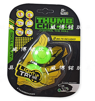 Thumb Chucks Green Belt inger Fidget Toy