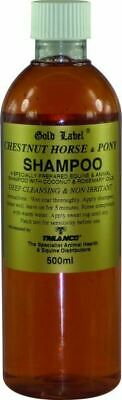 Gold Label Stock Shampoo Chestnut Equine Horse Shampoos & Conditioners
