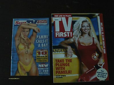 Pamela Anderson - Tv Super Guide & The People Magazine 1994 & 1997