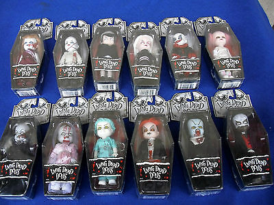 "Choose a 4"" Living Dead Dolls Minis New & sealed Mezco LDD Goth Horror Rare"