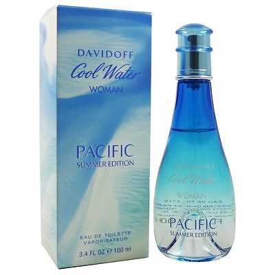 Davidoff Cool Water Woman Pacific Summer 2017 Edition 100 ml Eau de Toilette EDT