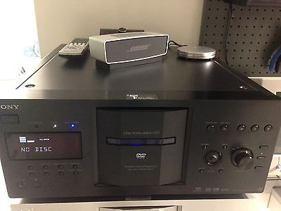 Sony Dvd SACD DVP CX777es DISC Explorer 400 Cd NERO