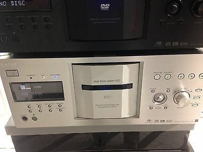 Sony Dvd SACD DVP CX777es DISC Explorer 400 Cd ARGENTO SILVER