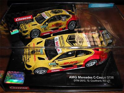 Carrera Evolution 27441 Mercedes C-Coupe DTM 2012 'D Coulthard, No.19'