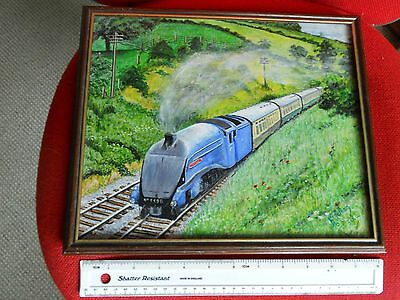 Amateur Oil Paining of LNER Sir Nigel Gresley- 4498 - Signed K Letham