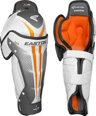Easton Mako M5 Ice Hockey Shin Guards Size Junior Hokejam.lv