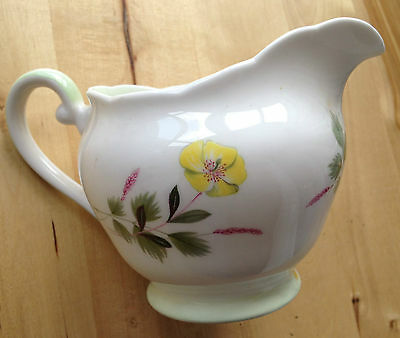 Vintage ADDERLEY BONE CHINA Milk Jug 1312 Pattern - England