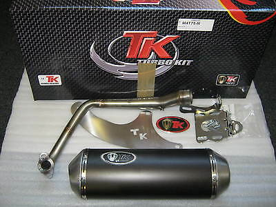 Sym Simply 2  125  4 Stroke Turbo Kit Stainless Steel Exhaust