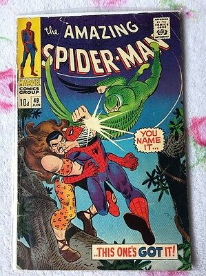 Amazing Spider-Man (1967) #49 - Marvel Comics - Silver Age - 1st Print