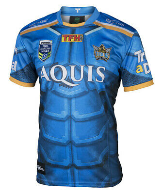 Gold Coast Titans NRL 2017 Classic Auckland Jersey Adults and Kids Sizes!