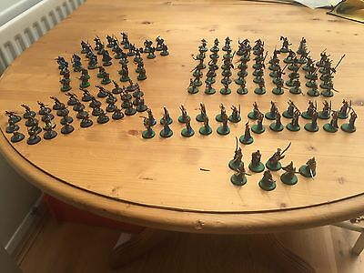 Warhammer Lord Of The Rings Gondor, Elves And Uruk Hai Army's