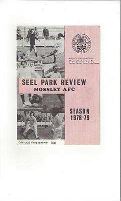 Mossley AFC v Southport Football Programme 1978/79