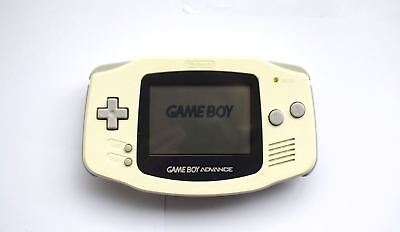 Nintendo Game Boy Advance GBA Handheld Original Console Pearl Ice White