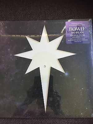 *SEALED* DAVID BOWIE: FINAL RECORDINGS No Plan White Vinyl LIMITED OOP EDITION