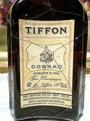 COGNAC – TIFFON FINE CHAMPAGNE V.S.O.P 40° - 75 cl OLD BOTTLE