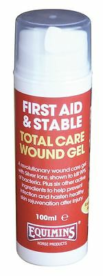 Equimins Total Care Wound Gel Equine Horse Horse Care & First Aid