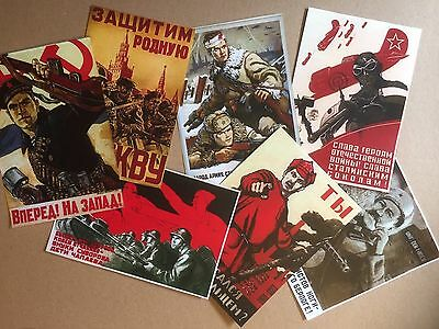 1/6 Dragon Did Russland Soviet Army 2.Wk WWII Poster Set