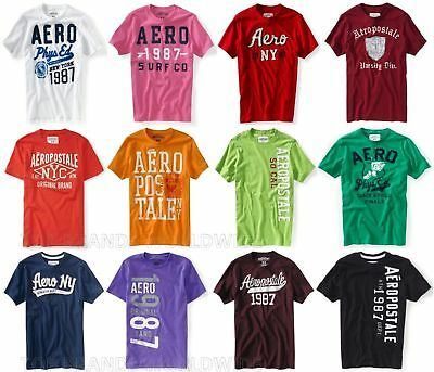 Aeropostale Mens T-Shirt Lot Of 5 You Choose Sizes Nwt Wholesale Resale Shirts