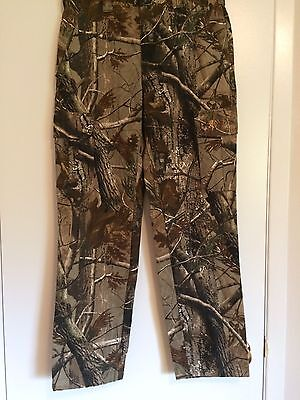 Men's BROWNING Wasatch Pants Realtree Camo Camouflage Hunting Fishing Sz Small