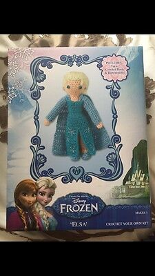 Frozen Elsa Crochet Your Own Kit New
