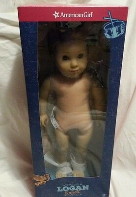 AMERICAN GIRL Boy LOGAN DOLL NUDE NEVER PLAYED WITH 2017 IN BOX