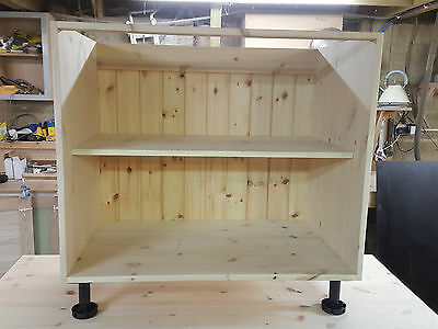 Hand Made Replacement Kitchen Units Solid Pine Ref: Cabinets