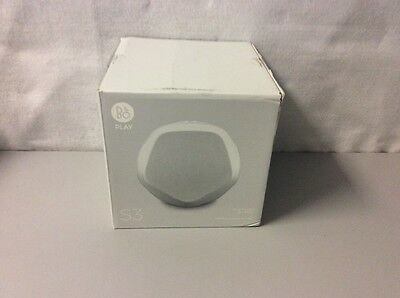 B&O PLAY by Bang & Olufsen Beoplay S3 Home Wireless Bluetooth Speaker White (BR)