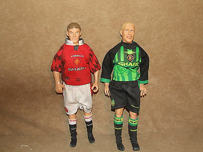 Manchester United Peter Schmeichel And Ole Gunnar Solskjaer Corinthian Large Fig