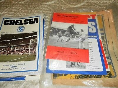 Chelsea Home And Away Programmes From 1975/6 - Select From List