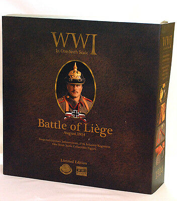 CalTek Int'l Corp.  WW1  Battle of Liege  Imperial German Infantryman  August 19