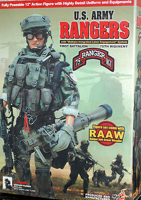 Hot Toys U.S. Army Ranger First Battalion 75th Regiment /w. RAAW