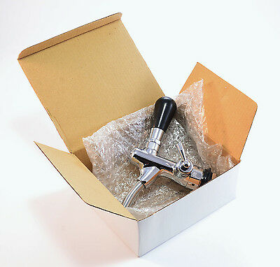 NEW! Beer Tap Handle Draft Faucet Flow Control Chrome