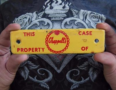 Vintage Chappell's Dairy Milk Crate Porcelain Advertising Sign Plaque Chappells