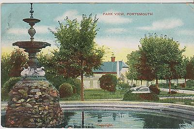 Postcard Showing, Park View, Portsmouth - 1906  - (HE30) (X)