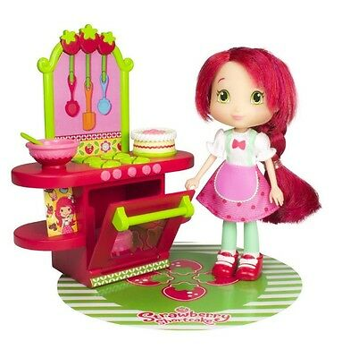 Strawberry Shortcake Berry Bitty Shops with Doll - Berry Cafe ~NEW~