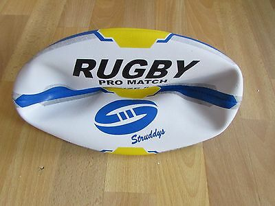 STUDDYS Synthetic RUGBY League Pro Match 3 Ply Bladder Hand Stitched Size 5 Ball