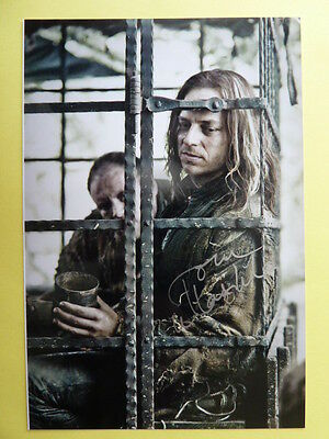 "-aa- Tom Wlaschiha, Foto aus ""Game of Thrones"" (signiert)"