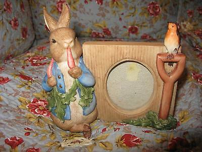 Beatrix Potter Peter Rabbit Oval Photo Picture Frame – Charpente - Easter Fun!!!