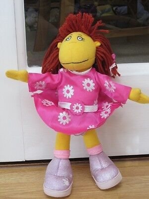 """Tweenie Fizz 12"""" Bendy Poseable Soft Toy In Shiny Glittery Clothes"""