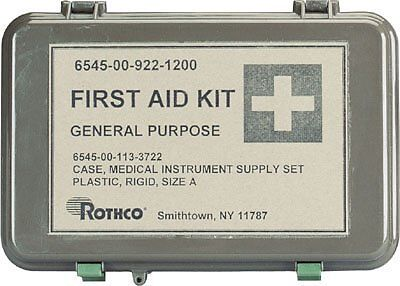 Rothco General Purpose First Aid Kit, Olive Drab