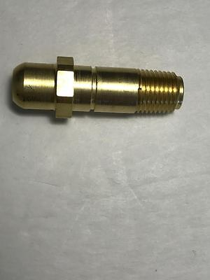Lot of 2 New CGA-540 Brass Inlet Nuts For Oxygen Right Hand Threads CGA 540