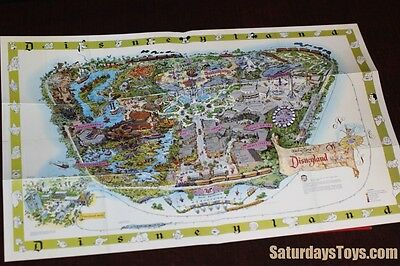 1964 2003 Disneyland Map Walt Disney Archives Authorized Facsimile Edison Square