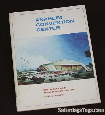 1967 Anaheim Convention Center Dedication Program The Doors Jefferson Airplane +