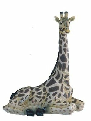 12.25 Inch Giraffe Nature Wild Animal Wilderness Statue Collectible Figure