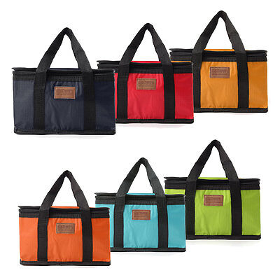 Insulated Waterproof Cooler Picnic Thermal Lunch Carry Storage Bag Foldable Hot