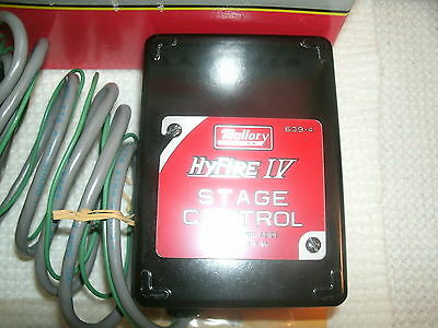 Mallory 639-4 HyFire IV Launch Stage Controller Kit Adj 2000-9000 RPM DRAG RACE