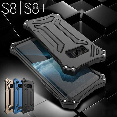 Metal Shockproof Armor Aluminum Case Hard Cover For Samsung Galaxy S8/ S8 Plus