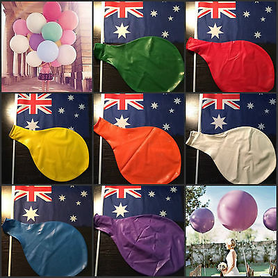 36 Inch 90cm Supper Large Round Giant Large Latex Balloon Wedding Party Birthday